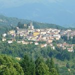 View of Barga from our balcony (Executive Room View)