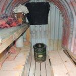 inside the Air Raid Shelter