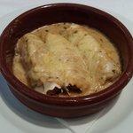 Canelones de pescado - Menú Restaurant PICASSO (Torroella de Montgrí)