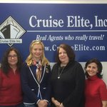 Elena Ulko & Cruise Elite Travel Agency team, Daytona Beach