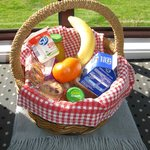 Lovely breakfast hamper