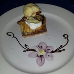 Awesome dessert at the Seaside Grill