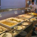 buffet de segundos platos