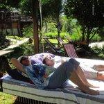 Luxurious garden furniture