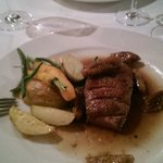 Duck breasts with cognac and figs