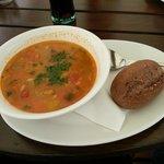 Czech vegetable soup