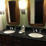 Double Vanity (sits outside of bathroom)