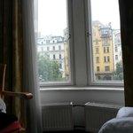 Utsikt från hotell rummet