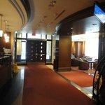 Main lobby and entrance to breakfast area