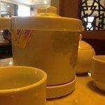 Pot of tea with mint (RM8)