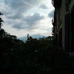 L'Etna vu des jardins