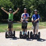 Just enjoyed a great Segway tour!