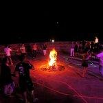 La fête autour du feu à Couleurs berbères