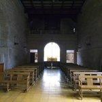 La Serena, Chile, Iglesia Santo Domingo. Vista interior hacia entrada y coro.
