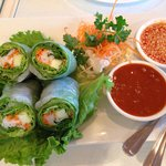 Seriously the best Thai summer rolls on the planet!!