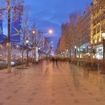 The Champs Elysees, evening hour