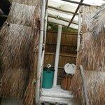 Bali Hut Bathroom