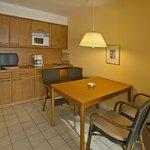 Küchen-Essbereich im 2-Raum-Appartement