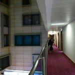 Corridoio per le camere