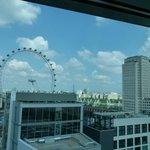 London Eyes dall'hotel
