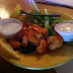 Buffalo shrimp were great!