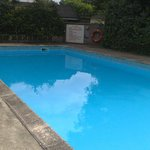 The pool, was lovely after the sun