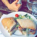 Club sandwich. Delicious
