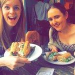 Perfect ham,Brie and salad baguette! Soooooo good!