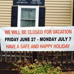 *CLOSED FOR VACATION!*