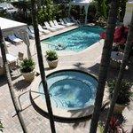 Villa Venice pool & hot tub
