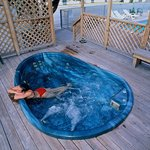 Outdoor Hot Tub, Year Round