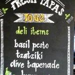 Fresh tapas for sale
