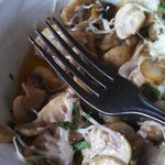 Garlic sauteed mushrooms