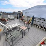 Our rooftop deck