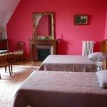 Chambre Framboise 2éme étage