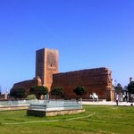 Torre Hassan, fachada sur