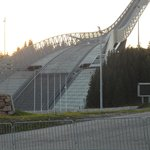 The skijump arena