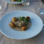 Les ris de veau, champignons et pomme grenailles
