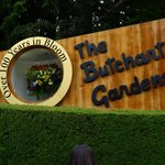 Butchart Gardens Entry