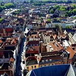 View over Bruges