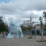 Place de Stalingrad - at the 2nd end of the bridge