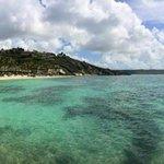 The view across Coco Beach