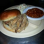 Pulled pork plate...amazing!