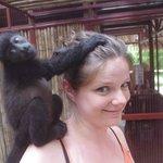 Meeting the monkeys was fantastic!