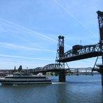 View of the Steel Bridge