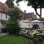 the garden of the Café Vlissinghe