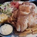 Fish and Chips at Ebenezer's Brunswick