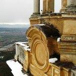 vista de cima da basilica