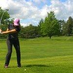 Au 16e trou du golf! - On the golf's 16th hole!