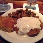Chicken fried steak! Yum!